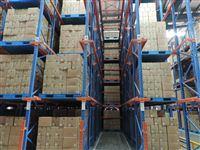 鄂州通廊货架 仓库贯通货架供应 鄂州货架厂