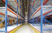 亚大实业货架厂的物流仓储货架安装防撞栏